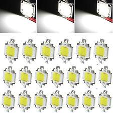 US 20pcs 10W Cool White High Power 800-900LM LED light Lamp SMD Chips DC 9-12V