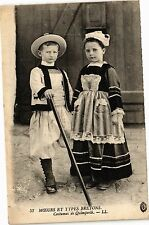 CPA  Moeurs et Types Bretons - Costumes de Quimperlé  (206672)