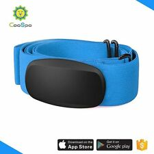 CooSpo H603 Bluetooth & ANT+  heart rate monitor strap Blue Color