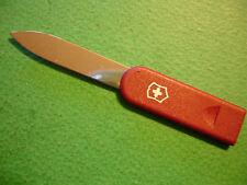 NTSA SWISS ARMY VICTORINOX SWISS CARD KNIFE - RED WITH SILVER SHIELD FREE SHIIP