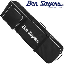 """NEW 2017"" BEN SAYERS DELUXE WHEELED PADDED GOLF BAG FLIGHT COVER TRAVEL COVER"
