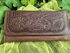Women's Genuine Leather Embossed Wallet