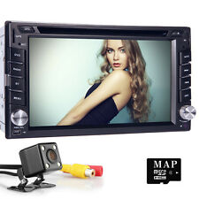 """6.2"""" Double 2 DIN Car DVD GPS Navigation Stereo head unit for Nissan universal"""