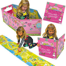 Girl Convertible Princess Carriage Book Toy 3-6 Years girls xmas gift