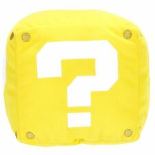 Super Mario Question Block Plush with Sound | Official Gaming Merchandise (New)