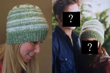 New Bella Twilight Slouch Beanie with Eclipse on Top of Hat ASO Kristen Stewart!