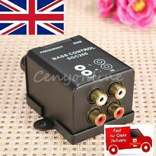 Car Home Amplifier Bass Controller RCA Gain Level Volume Control Knob Booster