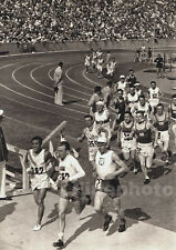 1936 Vintage 11x14 OLYMPICS Track SON KOREA PALME SWEDEN Photo Art By PAUL WOLFF