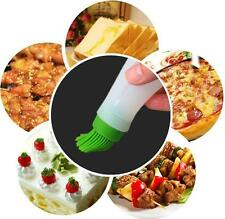 Silicone Miel Goupillon Cuisson Crêpe BBQ Outils Huile Sprays Stockage Bouteille