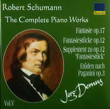 CD ROBERT SCHUMANN - the complete piano works vol. 5, Jörg Demus, neu - ovp
