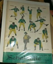 1951 NOTRE DAME Scholastic Review Football Issue Yearbook Publication