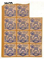 WW79 GB Fordell Firs Scotland Sticker x11 {samwells-covers}PTS
