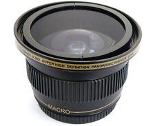 Ultra Super HD Panoramic Fisheye Lens For Canon HF S10 S11