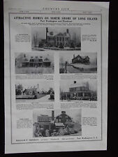 1922 Attractive Homes On North Shore of Long Island New York Advertisement