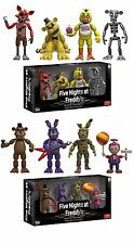 "Set Of 2 Five Nights At Freddy's 4 Pack 2"" MINI Figure 8 FIGURE TOTAL"