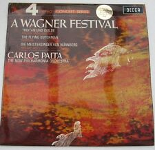 A WAGNER FESTIVAL: CARLOS PAITA: 1969 DECCA PHASE 4 STEREO LP Excellent