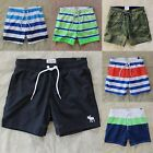 Abercrombie Men Swim Board Shorts Bathing Suit Trunks Campus Fit Guard Hollister