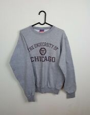 VTG GREY USA PRO COLLEGE CHAMPION ATHLETIC SPORTS OVERHEAD SWEATSHIRT JUMPER S