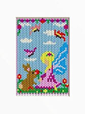 Fairy And Bunny Beaded Banner Pattern