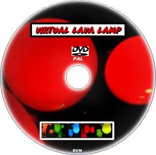 RELAX TO VIRTUAL LAVA LAMP ON TV MULTI COLOUR EFFECTS SOOTHING TO WATCH NEW DVD
