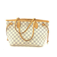AUTH  Louis Vuitton Damier Canvas leather Neverfull PM N41359 Shoulder Bag