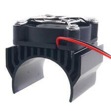RC 540 550 Motor Alum Heat Sink 40x36mm Cooling Fan 5-7.4V HSP 7020 Black Part