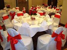 White chair cover for weddings and elegant events (Minimum 20 covers)