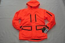 CABELA'S VERSALON 4-IN-1 HUNTING PARKA JACKET BLAZE ORANGE WINTER INSULATED MED