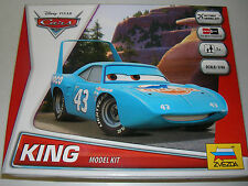 Zvezda 2013 - Disney Pixar Cars 'King' - 1:43 Plastic Kit Car