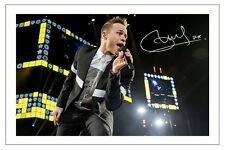 OLLY MURS SIGNED PHOTO PRINT AUTOGRAPH NEVER BEEN BETTER