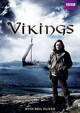 Vikings - Complete BBC Series - Neil Oliver - Brand New DVD