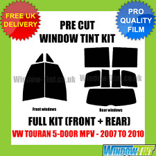 VW TOURAN 5-DOOR MPV 2007-2010 FULL PRE CUT WINDOW TINT
