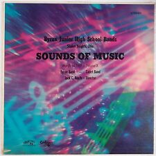 BYRON JUNIOR HIGH BAND: Sound of Music SHAKER HEIGHTS, OH Vinyl LP Private ODD