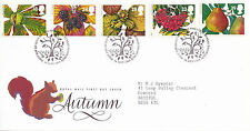 14 SETTEMBRE 1993 Autunno ROYAL MAIL FIRST DAY COVER Bureau SHS (X)