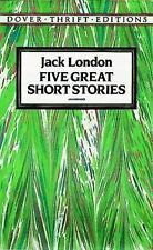 Five Great Short Stories (Dover Thrift Editions), Jack London Paperback Book