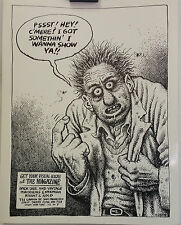 Robert Crumb for The Magazine (Shop) in San Francisco CA - Orig. 1980 Poster Ad
