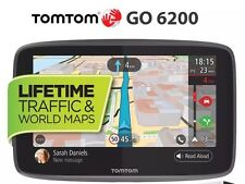 TomTom GO 6200 gps sat nav lifetime traffic, Bluetooth, wi-fi carte du monde,Sim
