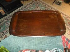 """Vintage McGraw Electric TOASTMASTER Wood Hospitality Serving Tray 26"""" USA"""