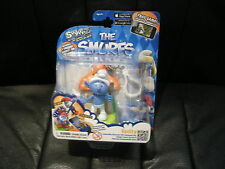 SWAPPZ - THE SMURFS - COLLECTIBLE CHARACTER WITH BACKPACK CLIP - VANITY - NEW