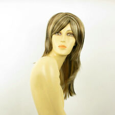 mid length wig Light blond copper wick clear and chocolate:GIULIA 15613H4  PERUK