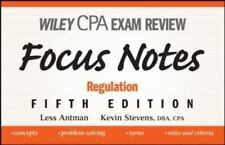 Wiley CPA Examination Review Focus Notes: Regulation (Wiley Cpa Examination Revi