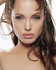 ANGELINA JOLIE 8X10 PHOTO PICTURE PIC HOT SEXY CLOSE UP BEAUTIFUL EYES 106