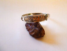 EGYPTIAN REAL SILVER BRACELET SMALL 6 INCHES! HIEROGLYPHIC BRACELET!