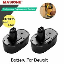 New 2-Pack 18V 18 VOLT XRP Ni-MH Battery Pack for DeWALT DC9096 DW9095 DW9096