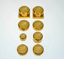 HAYABUSA BUSA GSXR GSX1300R GEN1 GOLD AXLE DRESS UP KIT CAPS PLUGS COVERS 301KA5
