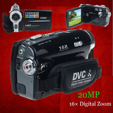 HD 1080P 20MP Digitale Videocamera DV DVR 3.0'' TFT LCD 16x ZOOM UK