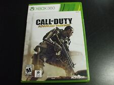 Replacement Case (NO GAME) CALL OF DUTY ADVANCED WARFARE  XBOX 360