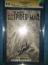 Amazing Spider Man #1 Stan Lee Autograph CGC Signature 9.8 Alex Ross Variant B&W