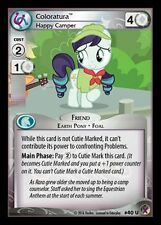 1x Coloratura, Happy Camper 40 - My Little Pony Marks in Time MLP CCG