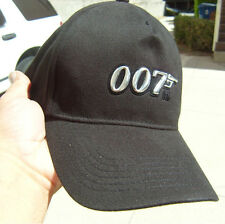 "TWO ""007"" James Bond New Original Cap , Hat with emblom, GREAT CHRISTMAS Gift"